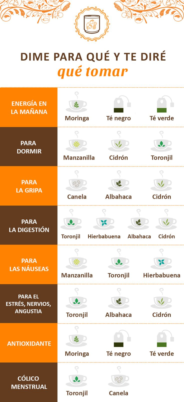 Cada té tiene beneficios para ti, conócelos aquí: