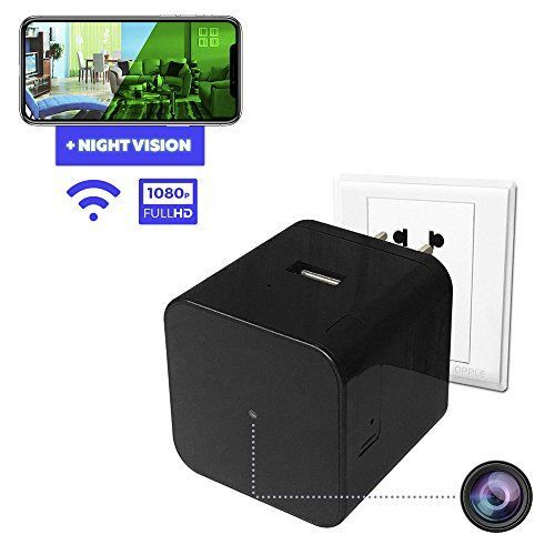 Spy Camera - Hidden Camera - Home Security Camera - Wifi Camera - Nanny Spy Cam - Night Vision Camera with Motion Detector - Wireless Ip Camera System - Small Spy Cameras - Usb Wall Charger Camera - Your Go-To Solution For Discreet & Effective Home Security & SurveillanceAre you planning to go on a trip, and are worried about what is going to happen in your home in your absence?Aren't you sick and tired of your pets and children making a mess at home while you're away, and you being none…