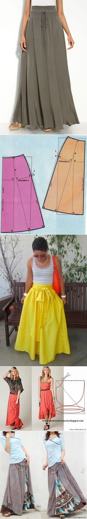 Sewing pattern/ skirts