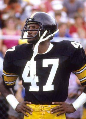 Mel Blount - Pittsburgh Steelers hard hitting cornerback