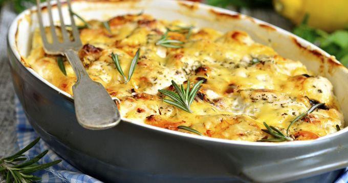 Crumble de légumes du soleil à la moutarde (facile, rapide) - Une recette CuisineAZ