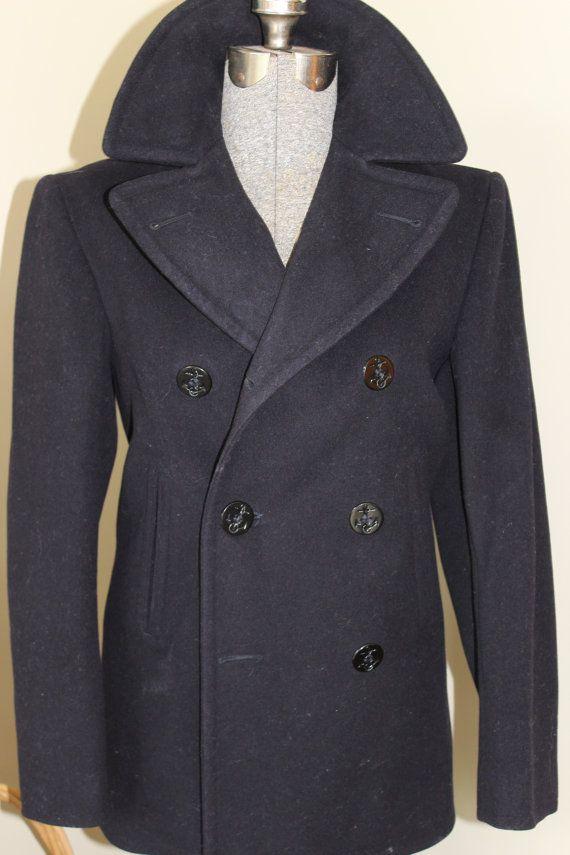 Best 25  Navy pea coat ideas on Pinterest   Brown pea coat mens ...