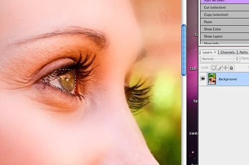 How to use blur effects, and other effects in Photo Shop to make the picture more ethereal and dreamy while still keeping the focus on the subject.