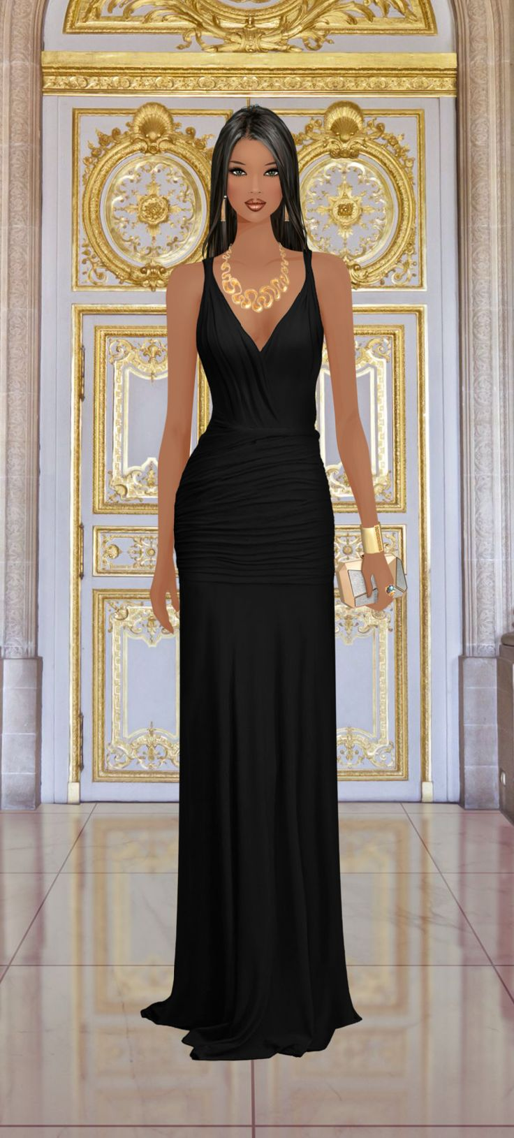 Covet Fashion Game Gilded Gala | My Style | Fashion, Covet ...