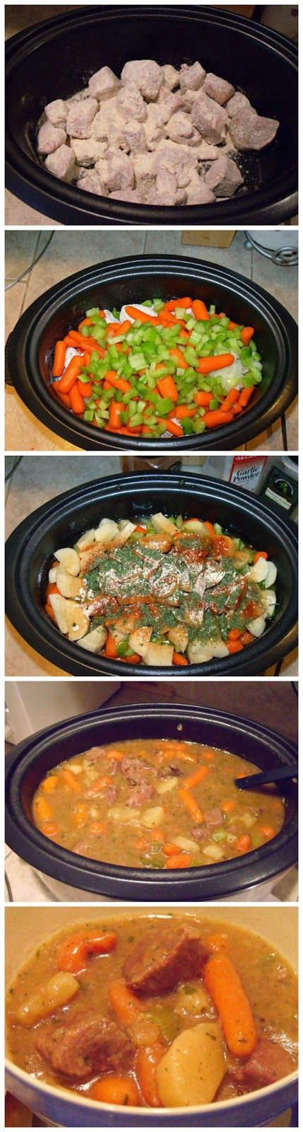 Easy Hearty Crockpot Stew - made it tonight & it was fantastic!!! Only change I made was added an 1/2 can of tomato soup.    Ingredients   2...
