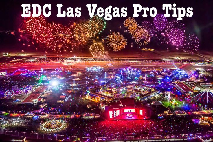 EDC Las Vegas Pro Tips: All the tips I've learned from attending EDC over the years, including everything you need to know while planning (buying tickets, shuttle passes, what to bring with you) as well as tips for when you arrive