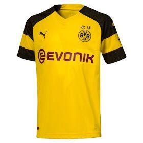 Camisetas de fútbol de la Rusia Mundial 2018  Camiseta Borussia Dortmund  2018-2019 baratas 032442347aeb6
