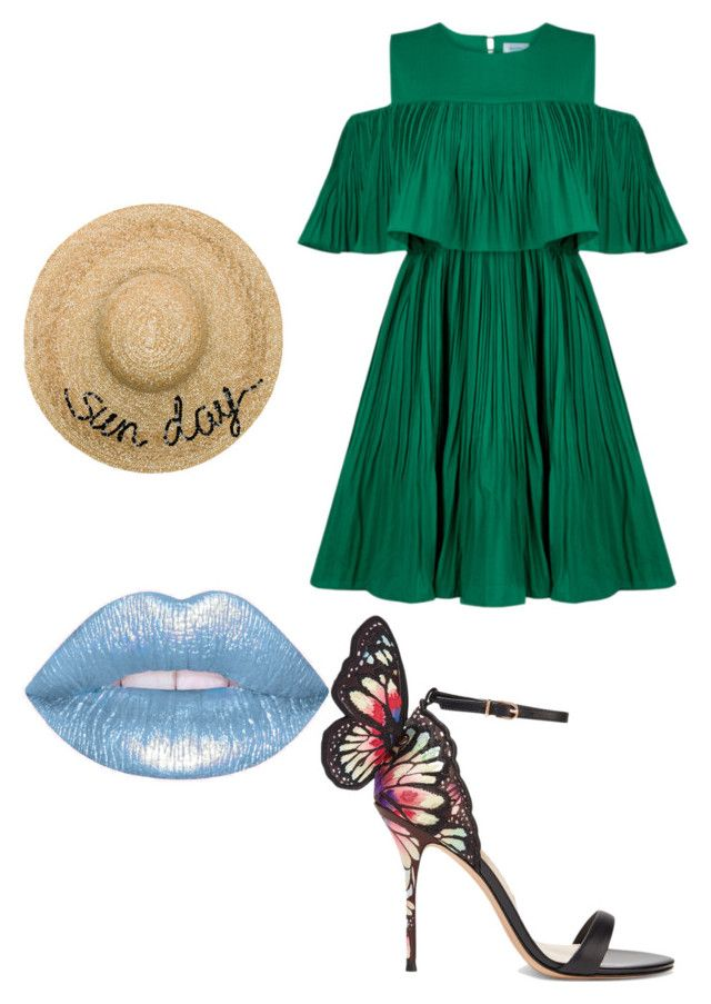 """""""dayana"""" by camil23m on Polyvore featuring Jovonna, Sophia Webster, Eugenia Kim, men's fashion and menswear"""