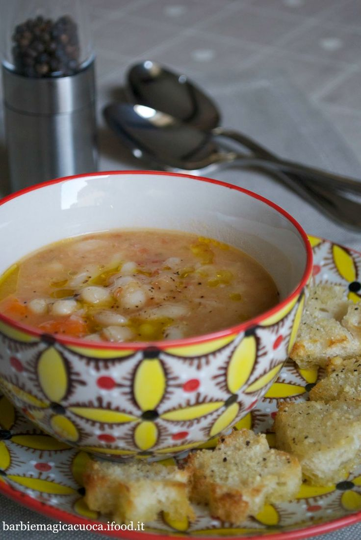 zuppa di fagioli cannellini 1