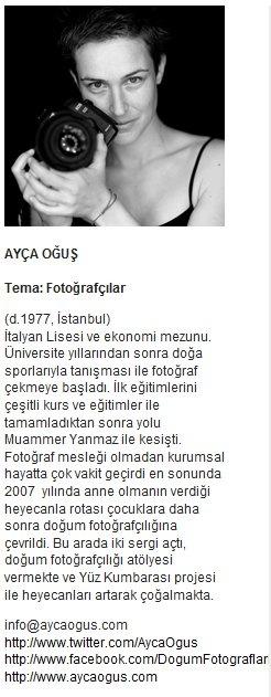 Ayça Oğuş - Yüz Kumbarası Projesi    http://www.yuzkumbarasi.com/aycaogus