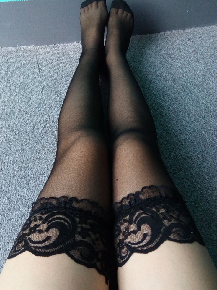 Fashion Sexy Women Lingerie Lace Cute Stocking Ladies Stockings High Sheer Long Colorful Mesh