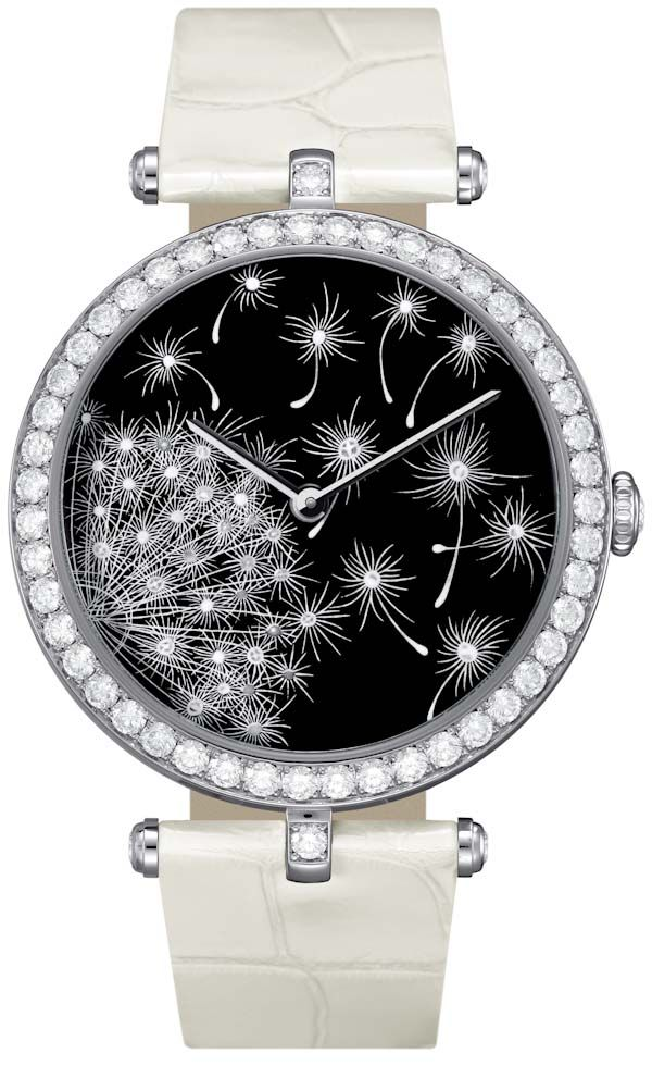 Van Cleef & Arpels Art On The Dial Allows For Convenient Custom Watches   look inside manufacture