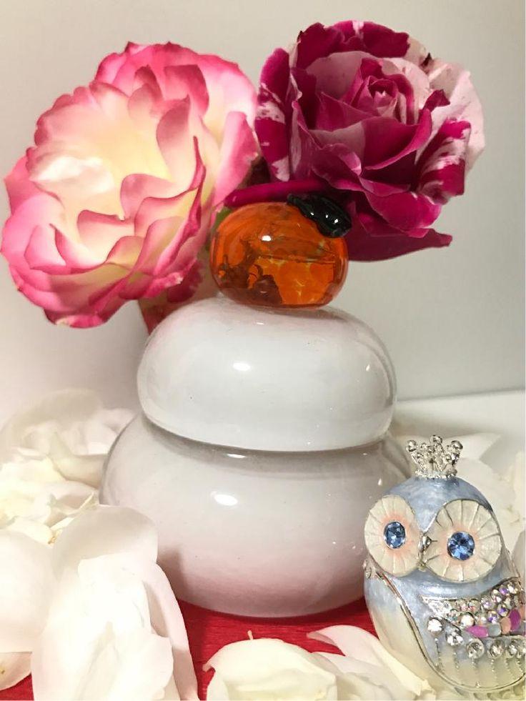 『紅白のバラがまだ咲いていたのでガラスの鏡餅と、酉年らしくふくろうも一緒に飾りました♪』なるとさんが投稿したバラ,バラ ボレロ,バラ(クレイジートゥー),バラ・ジュビレデュプリンスドゥモナコ,『お正月飾り』コンテスト,マイ・コレクション,花自慢,バラ 鉢植え,今日のお花,ローズコレクション,ロザリアン,バラを楽しむ,シボラーの画像です。 (2017月1月3日)