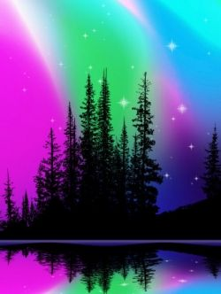 Go to Alaska and see the Northern Lights - the beautiful Aurora Borealis <3