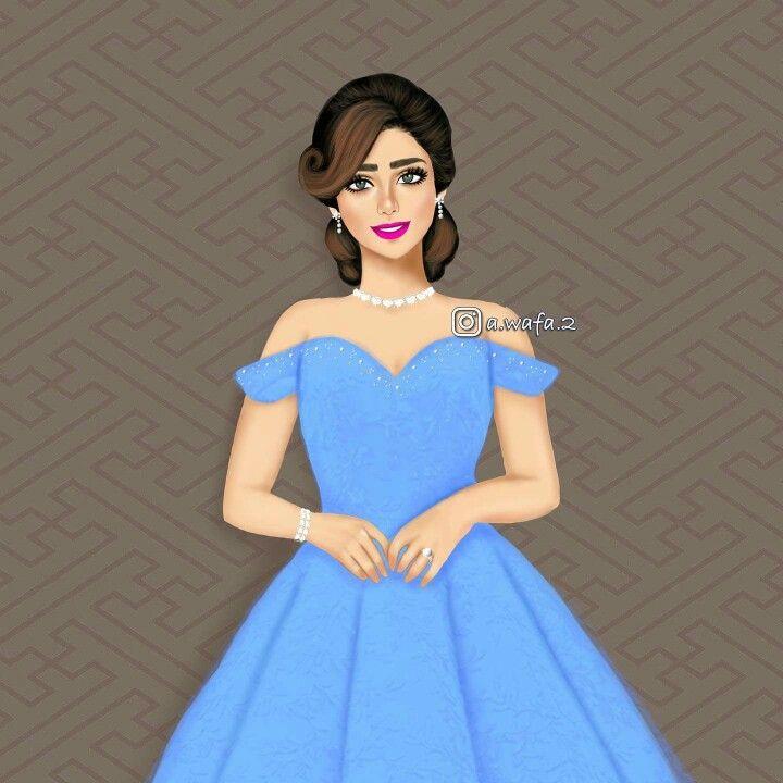 Pin By Akane On A Wafa 2 Beautiful Girl Drawing Dress Design Drawing Lovely Girl Image