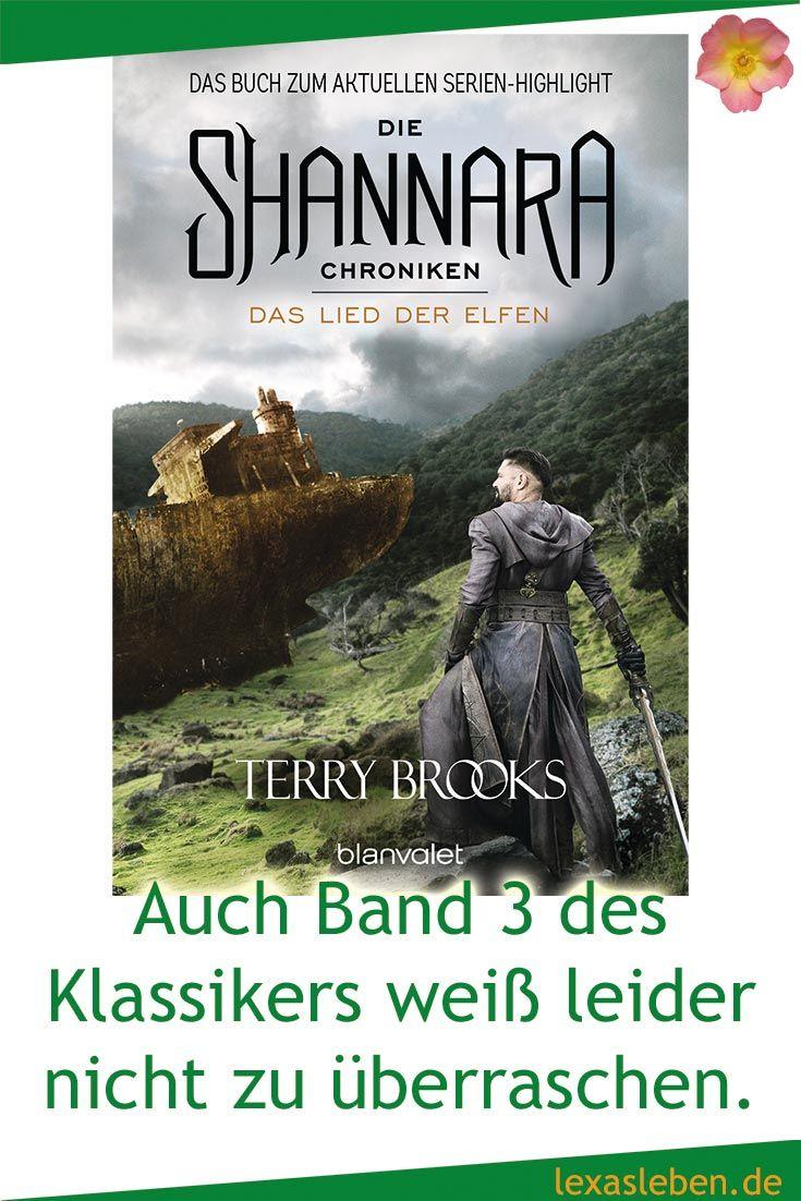 Das Lied der Elfen ist Band drei der Shannara Chroniken von Terry Brooks und reiht sich nahtlos ein. Ein Standard Fantasy-Repertoire wurde erwartet und abgeliefert. http://lexasleben.de/terry-brooks-die-shannara-chroniken-das-lied-der-elfen/