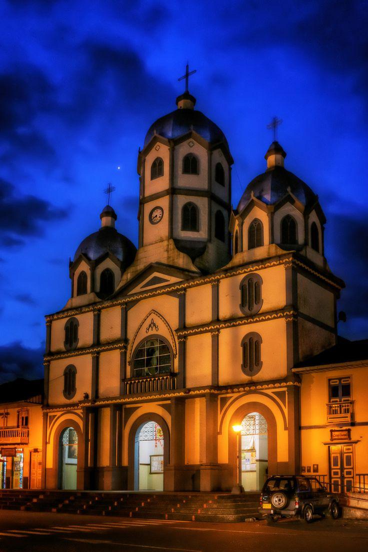 Salento Church, Quindio, Colombia