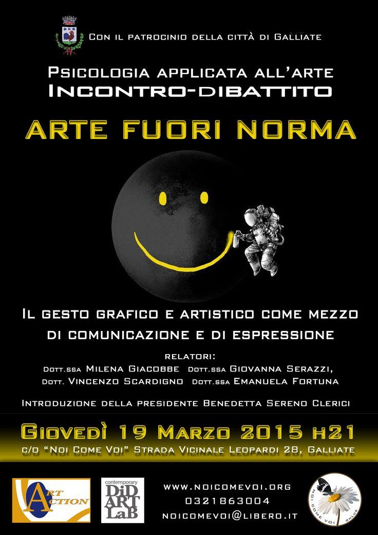 Psicologia applicata all'arte: il 19 marzo incontro dibattito a Galliate http://isa-voi.blogspot.it/2015/03/psicologia-applicata-allarte-il-19.html