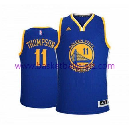 Golden State Warriors Trikot Herren 15-16 Klay Thompson 11# Road Basketball Trikot Swingman