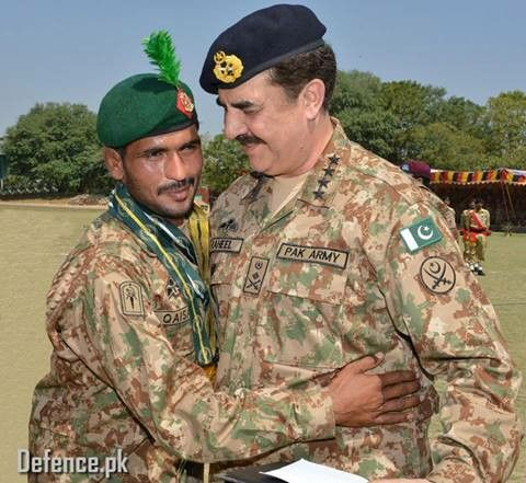 Army Chief of Pakistan Army General Raheel Shareef.
