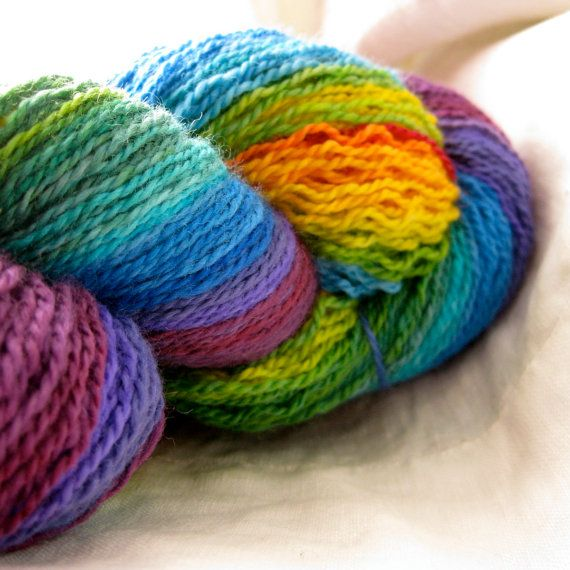 So gorgeous!!  I love this yarn!  I love this dyer!