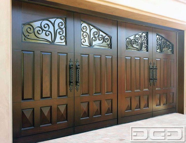 View Large Photo Of Mediterranean Revival 10 | Custom Architectural Garage  Door