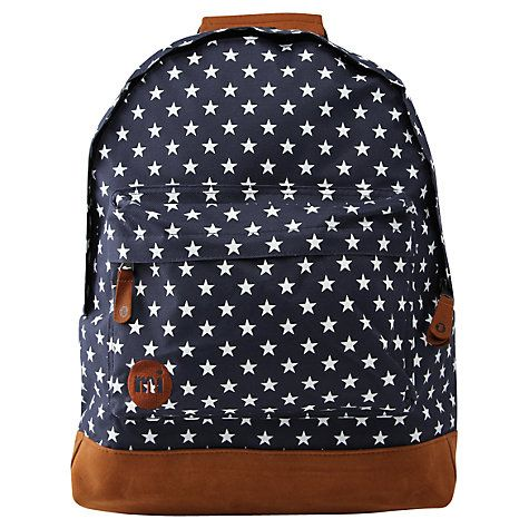 Buy Mi-Pac All Stars Backpack, Navy Online at johnlewis.com