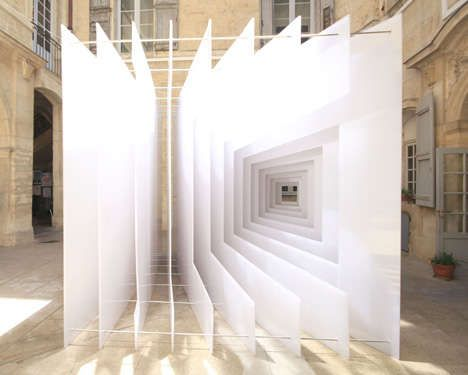 The Reframe art installation is the collaborative creation of Dutch architecture and design studio Paul Scales and French architecture firm, Atelier Kit. Testing visual boundaries, this perspective-themed art piece made major waves at the Festival of Living Architecture in Montpellier, France.