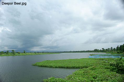 Deepor Beel - It is a permanent freshwater lake, in a former channel of the Brahmaputra River, to the south of the main river.