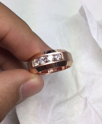 Designer Diamond Ring  #mensring #diamondring #ringformen #mensrings #diamondjewellery #jewelleryformen #solitaireringformen #diamonds #naturaldiamonds #jewelry
