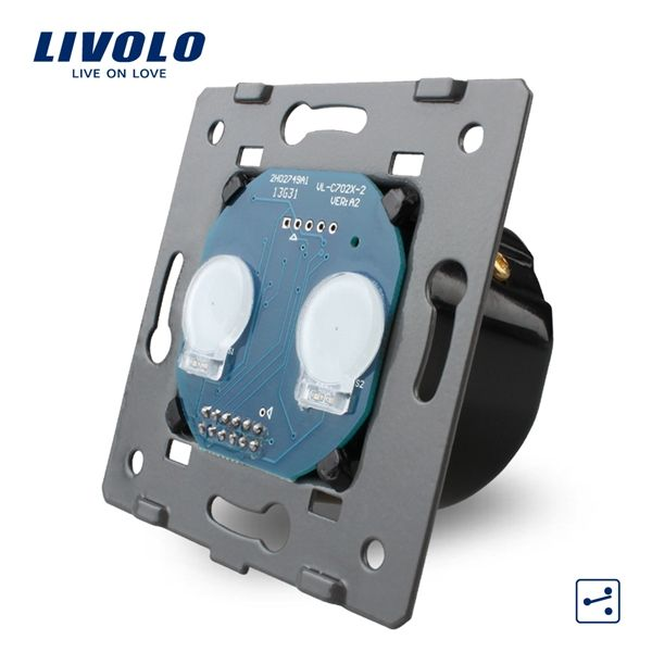 Terrific Livolo Eu 2 Gangs 2 Ways Touch Screen Intermediate Switch Vl C702S Wiring Digital Resources Remcakbiperorg