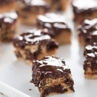 Dark Chocolate Ritz Bars – an easy dessert full of Ritz crackers and chocolate!