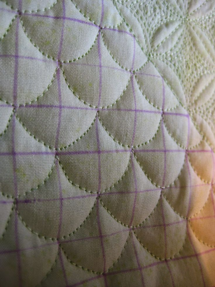 Free Motion Monday Quilting Adventure: Grid-Based Designs Week 5 - Amys Free Motion Quilting Adventures, check out the blog post for variations