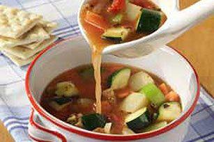 Spring Vegetable Soup recipe #kraftrecipes
