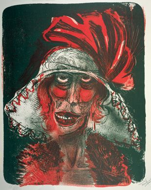 Otto Dix, Leonie, 1923 by kraftgenie, via Flickr