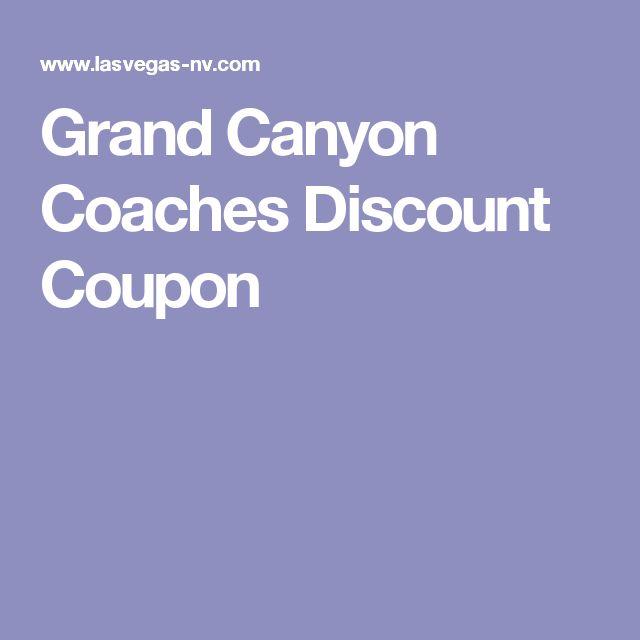 Grand Canyon Coaches Discount Coupon