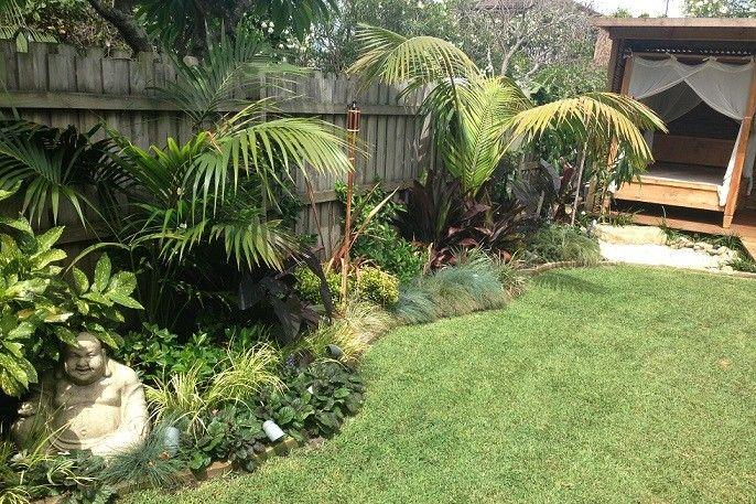 Bali Style Garden Design. Landscape Architect. Landscape Design Plans
