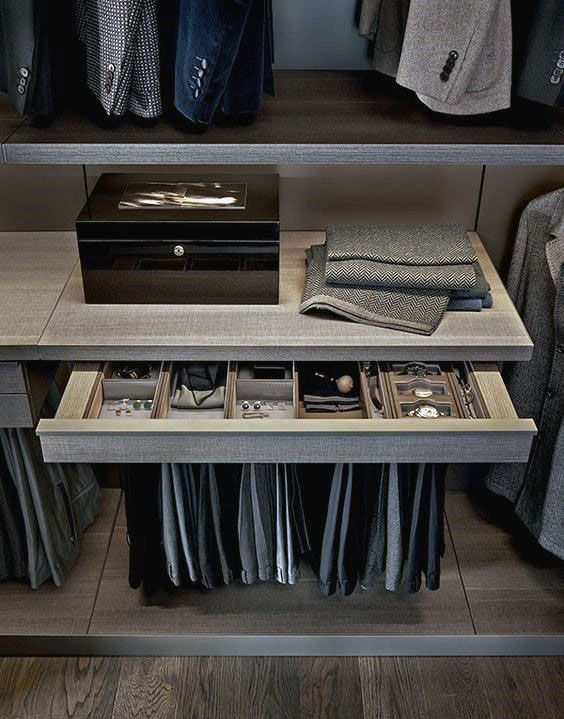 Pull Out Closet Accessory Drawer