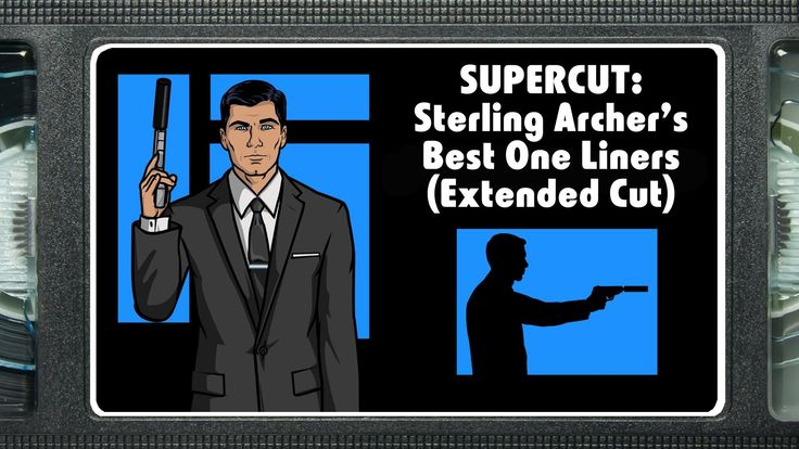 A Supercut of Sterling Archer's Best One-Liners