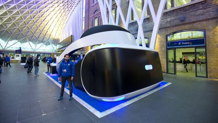 You can demo the PlayStation VR in a ridiculous oversized helmet in London: Sony has announced that as of today, you can now demo…