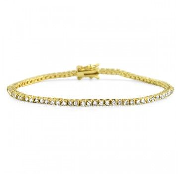 Classic gold tennis bracelet for only $20. Good to have in the collection