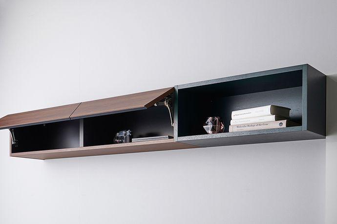 食器棚 キッチンボード 壁面収納 家具メーカーのパモウナ 食器