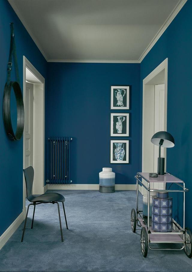 Riviera, SCHÖNER WOHNEN-Trendfarbe #stuhl #wandfarbe #spiegel ...