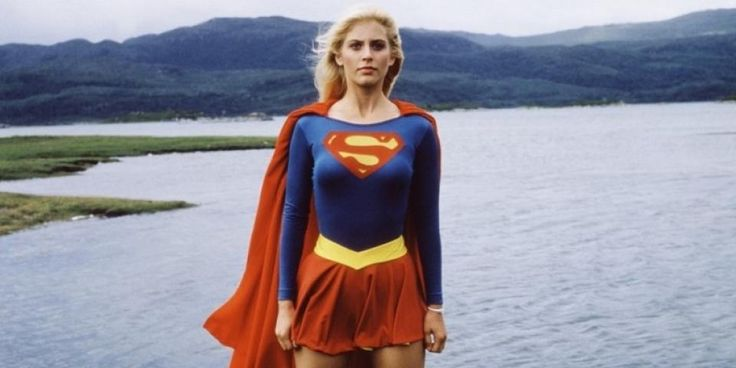 The 1984 Supergirl movie, starring Helen Slater, is seriously bonkers.
