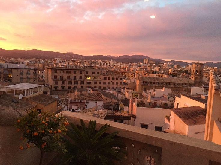Sunset in Palma de Mallorca  #mallorca #sunset