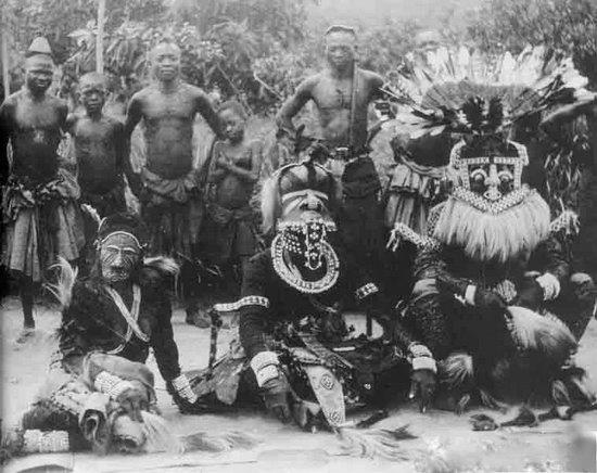 Africa | Kuba people, DR of Congo | Masquerade