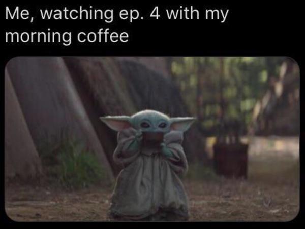 Baby Yoda On Instagram Will This Be A New Meme Format Mandalorianmerch Themandalorian Babyyoda Babyyodamemes Litt Funny Baby Memes Yoda Meme Baby Memes