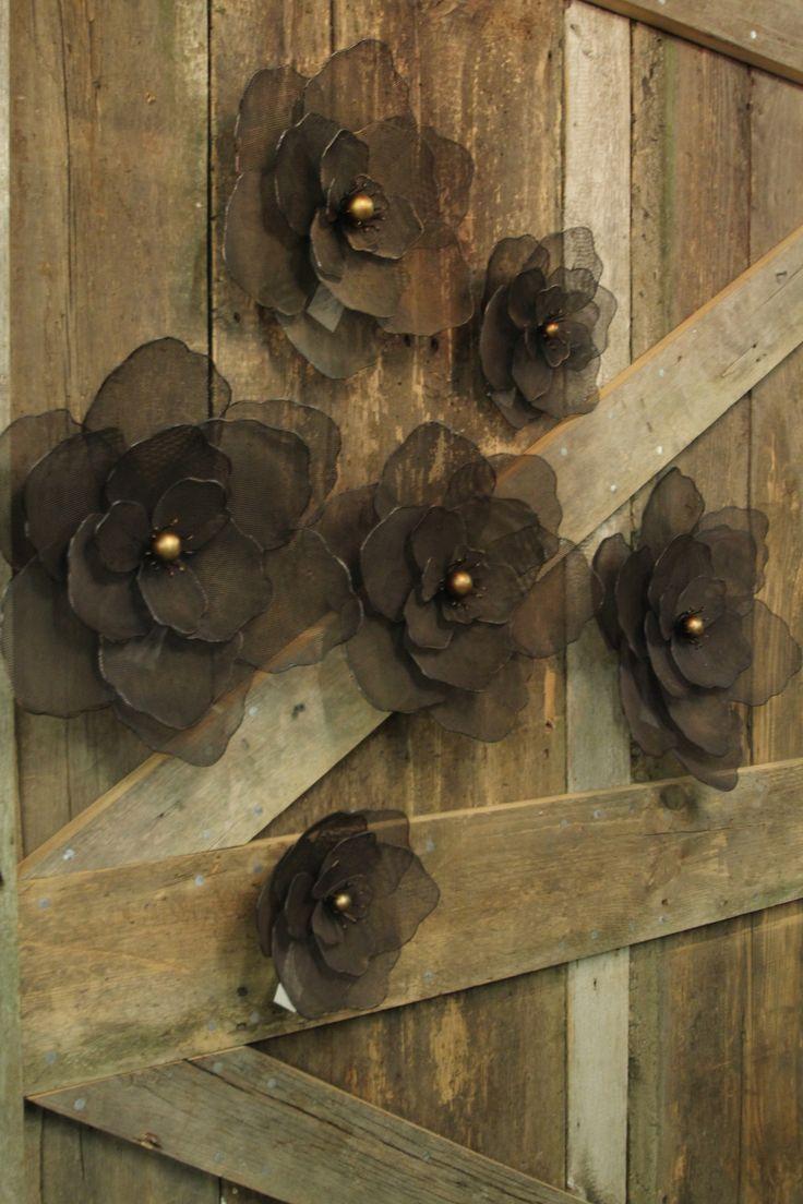 Metal Wall Flowers 60 best metal flowers images on pinterest | metal flowers, metal