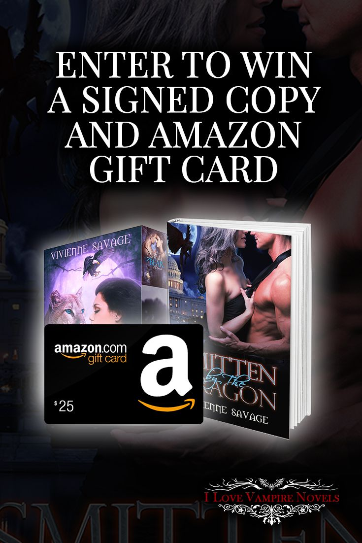 Win A $25 & $10 Amazon Gift Card & Signed Copies From Bestselling Author  Vivienne Savage