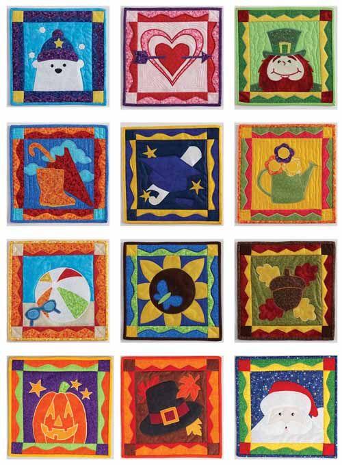 Monthly Calendar Quilt Patterns : Best block quilts images on pinterest quilt blocks